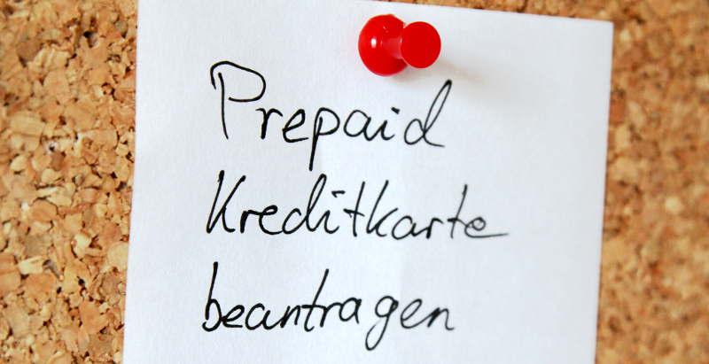 Prepaid Kreditkarte benötigt? Dann das Beantragen nicht vergessen!